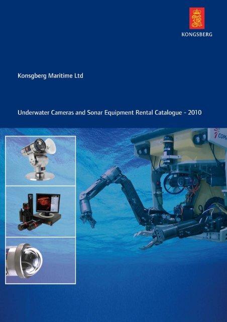 Underwater Cameras and Sonar Equipment Rental Catalogue 2010
