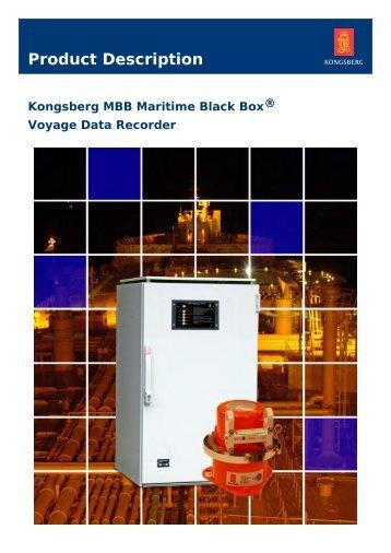 Voyage data recorder - Kongsberg Maritime
