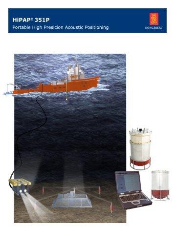 HiPAP® 351P - Kongsberg Maritime