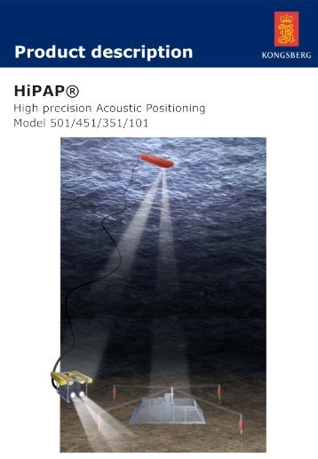 HiPAP - High Precision Acoustic Positioning Model 501/451/351/101