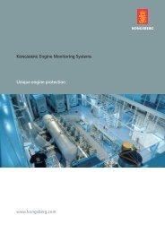 Engine monitoring systems - Kongsberg Maritime