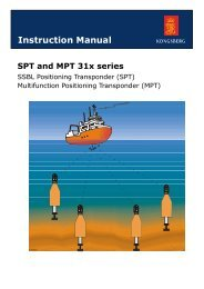 Instruction manual, SPT and MPT 31x series transponders