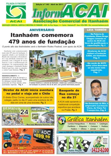 Edição de Abril 2011 - ACAI