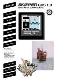 Navigation echo sounder