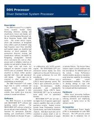 DDS Processor Diver Detection System Processor