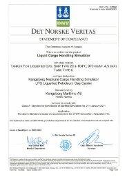 DET NoRsKE VERITAS - Kongsberg Maritime