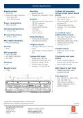 Generator protection module, RIO-C3GPxe - Kongsberg Maritime - Page 2