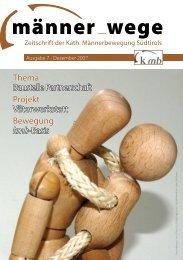 Zeitschrift der Kath. Männerbewegung Südtirols - Katholische ...