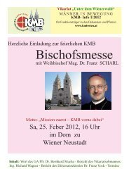 Ausgabe Frühjahr 2012 (PDF 840 KB) - Katholische ...