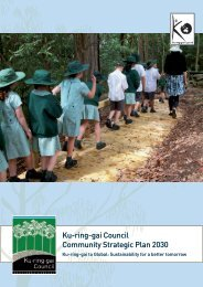 Community Strategic Plan 2030 (pdf. 1MB) - Ku-ring-gai Council