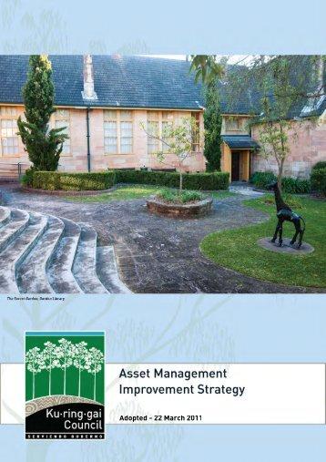 Asset Management Improvement Strategy - Ku-ring-gai Council