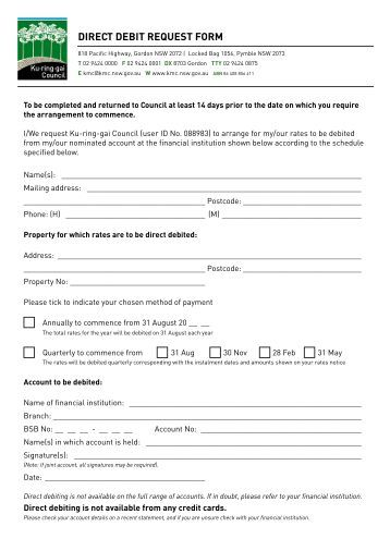 Debit Order Form General Consumer Complaint Form Example Sample