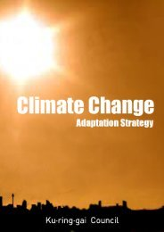 Climate Change Adaptation Strategy FINAL - Ku-ring-gai Council ...