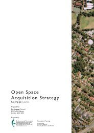 Open Space Acquisition Strategy - Part 1 - Ku-ring-gai Council