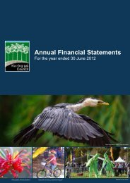 Financial Statements 2011-2012 (pdf. 4MB) - Ku-ring-gai Council