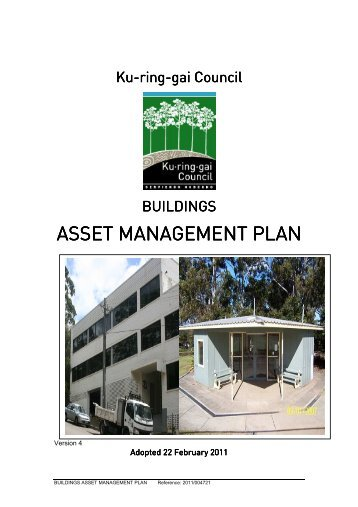 Asset Management Plan - Buildings - Ku-ring-gai Council