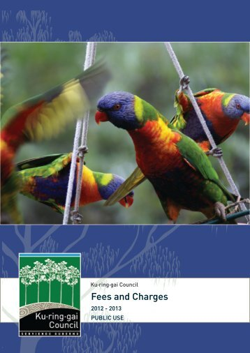 Fees and charges 2012-2013 - Ku-ring-gai Council - NSW ...