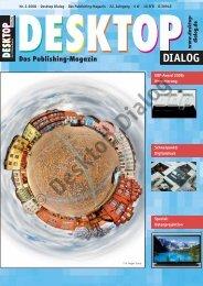 Vorberichte Prepress Ausgabe 04-08, ET: 28. März ... - Desktop Dialog