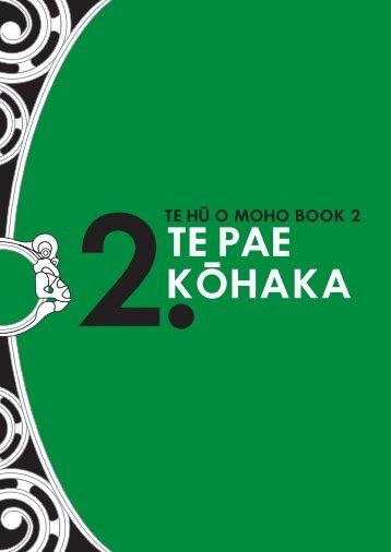 Te Hū o Moho Book 2 - Te Pae Kohaka - Kotahi Mano Kaika