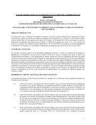 1 avis de certification et d'audience en vue d'obtenir l'approbation du ...
