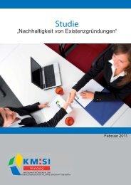 Existenzgründerstudie 2011 - Kompetenzregion Mittelstand Siegen ...