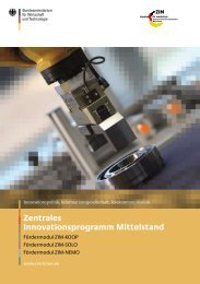 Infobroschüre ZIM - ATHENA Technologie Beratung GmbH