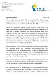 zum Pressetext - Kompetenzregion Mittelstand Siegen-Wittgenstein