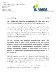 weiterlesen - Kompetenzregion Mittelstand Siegen-Wittgenstein