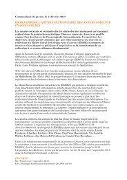 Les MODERNES. Avant-garde (PDF, 150 kB)