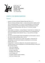 een selectie van haar publicaties, lezingen en mandaten (PDF, 106 ...