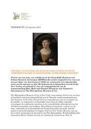 Portret uit KMSKA blijkt na restauratie een authentieke Gossaert
