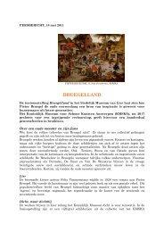 'Bruegelland' (PDF, 127 kB) - Koninklijk Museum voor Schone ...