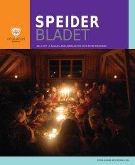 Speiderbladet 4-2007 - Norges KFUK-KFUM-speidere