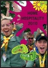 HOME HOSPITALITY 2010 - Norges KFUK-KFUM-speidere