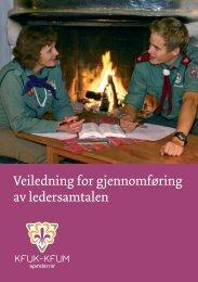 Veiledning for gjennomføring av ledersamtalen - KFUK-KFUM ...