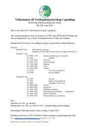 Invitasjon til VM - Norges KFUK-KFUM-speidere