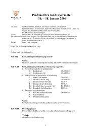 Protokoll fra landsstyremøtet 16. - KFUK-KFUM-speiderne