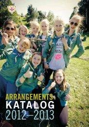 Arrangementskatalog - KFUK-KFUM-speiderne