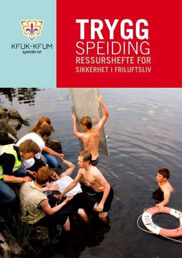 Trygg speiding - KFUK-KFUM-speiderne