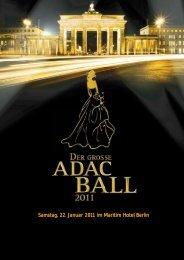 So orange ist nur Berlin. - ADAC-Ball