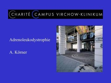 Adrenoleukodystrophie A. Körner