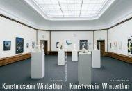 Jahresbericht 2010 - Kunstmuseum Winterthur