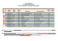 lojistik 1.sınıf - kaynaşli myo - Düzce Üniversitesi
