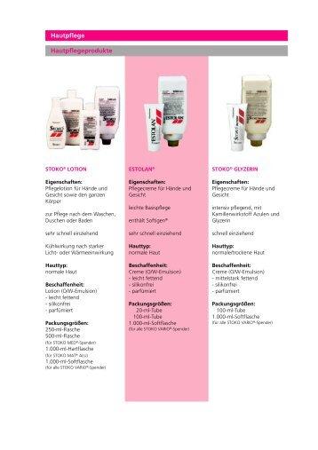 Hautpflege Hautpflegeprodukte - DeCon GmbH