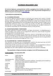 TECHNISCH REGLEMENT 2010 - Knaf