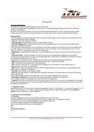 PTC Cup 2011 Technisch Reglement Dit Reglement is het ... - Knaf