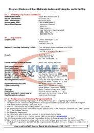 Chrono Karting Rotax Max Winter Serie 2 op 4 maart De ... - Knaf