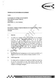 Uitspraak zaak Dorus Damen - Knaf