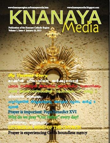 2012 January 26 - Knanaya Catholic Region