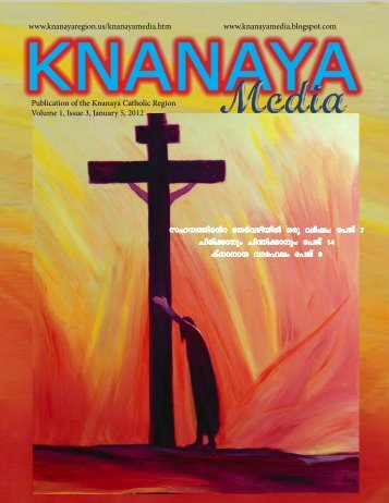 2012 January 5 - Knanaya Catholic Region
